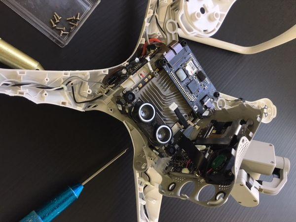 PHANTOM4修理